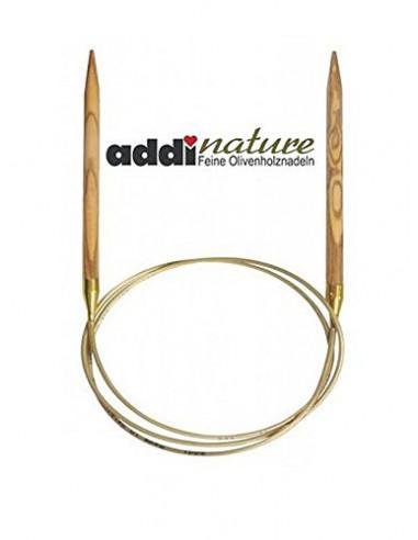 ADDI Circular OLIVE wood knitting...