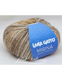 LANA GATTO - MISINA Stampato M8101