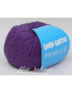 P6557 COTONE VISCOSA PRIMULA LANA GATTO