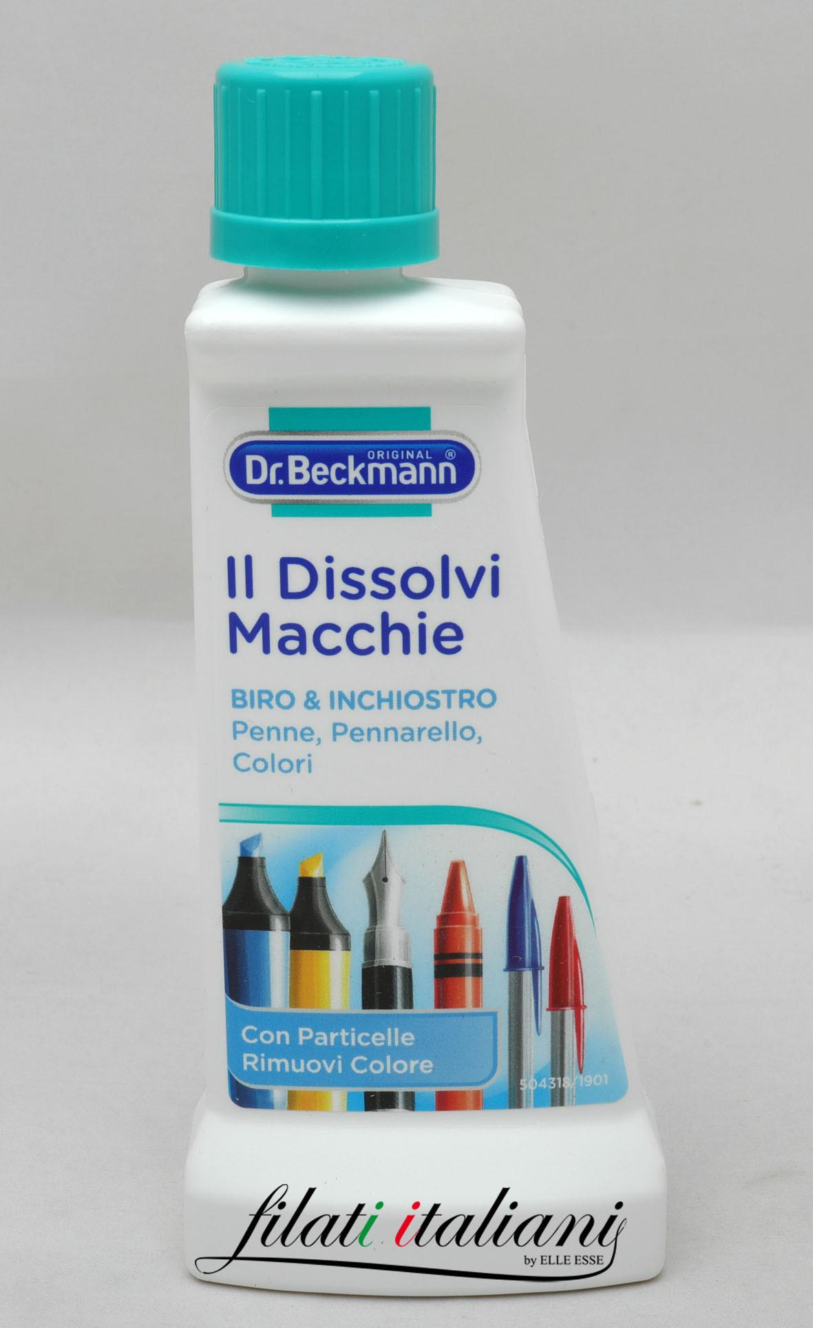 Macchie Di Pennarello Su Tessuto biro & inchiostro smacchiatore dr. beckmann macchie d'inchiostro